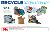 Recycle Paper Poster
